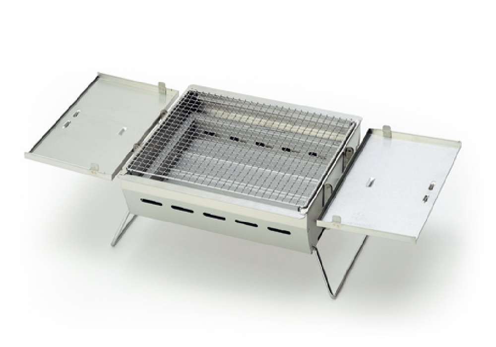 日本Snow Peak Lounge Shell 客廳帳專用BBQ BOX單口烤爐 # CK-070