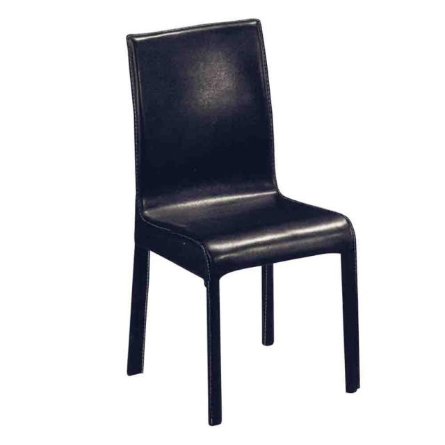 Boden 經典馬鞍皮鐵腳餐椅/ 單椅(兩色可選)