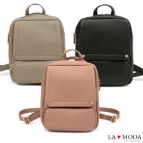 La Moda 完美穿搭一秒立即換包型多Way出遊防盜後背包(共3色)