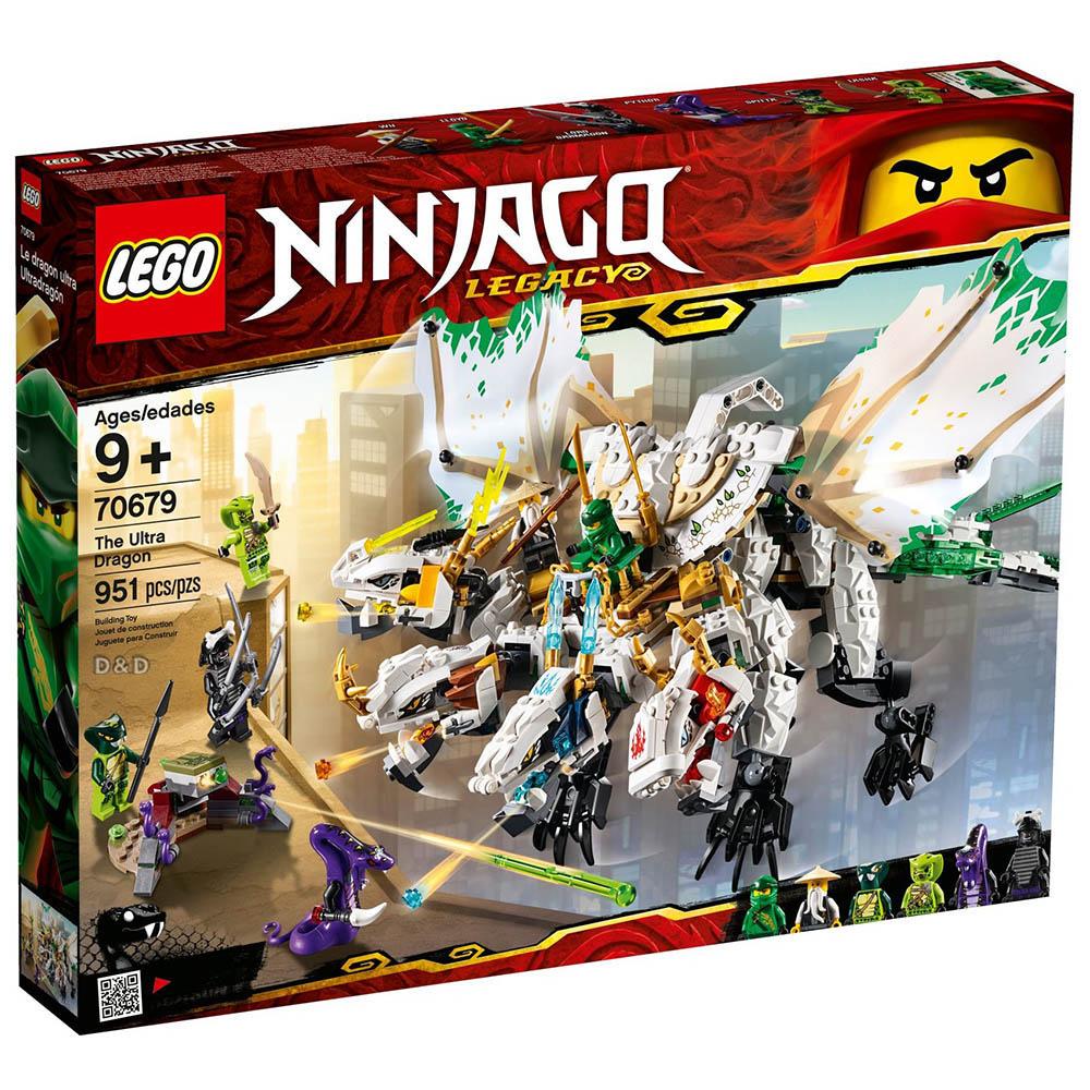 樂高積木 LEGO《 LT70679 》 NINJAGO 旋風忍者系列 - 超級巨龍