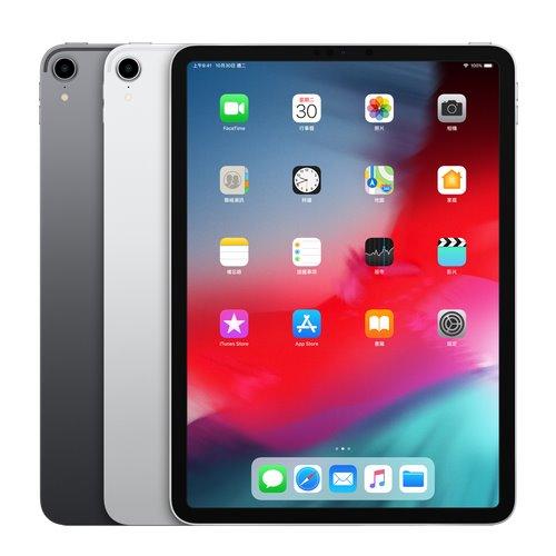 Apple iPad Pro 11吋 Wi-Fi 64GB 平板電腦【加贈:螢幕保護貼 + 觸控筆 + 專用機背蓋 】