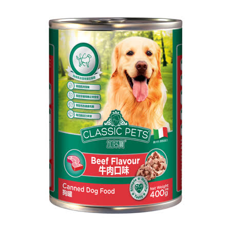 Classic Pets加好寶 義大利狗罐24罐箱購