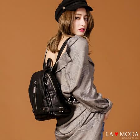 La Moda  輕旅行大容量肩背後背包
