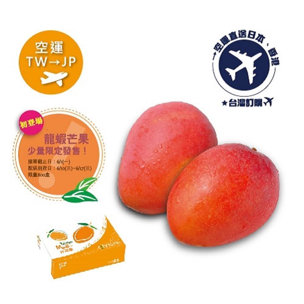 2020 預購空運《TW台灣→JP日本》龍蝦芒果 5kg(約8~14顆)(預購)