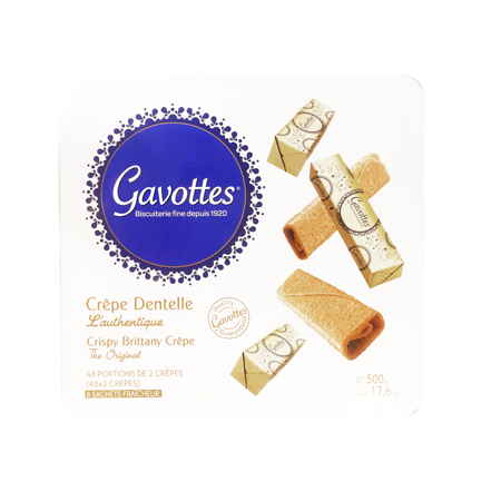 【Gavottees歌法蒂】 琉金薄餅禮盒