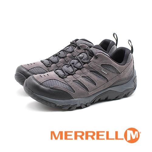 MERRELL Gore-Tex防水健行遠足鞋 男鞋 - 灰