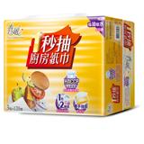 《春風》抽取式廚房紙巾-一秒廚(120抽*3包*8串)/箱