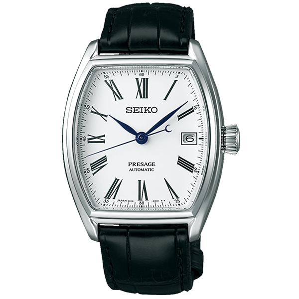 SEIKO 精工 Presage琺瑯工藝機械限量錶腕錶(6R15-03T0S/ SPB049J1)