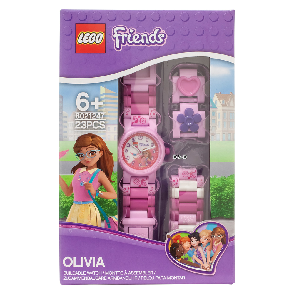 【樂高積木 LEGO】兒童手錶 - 奧莉維亞OLIVIA