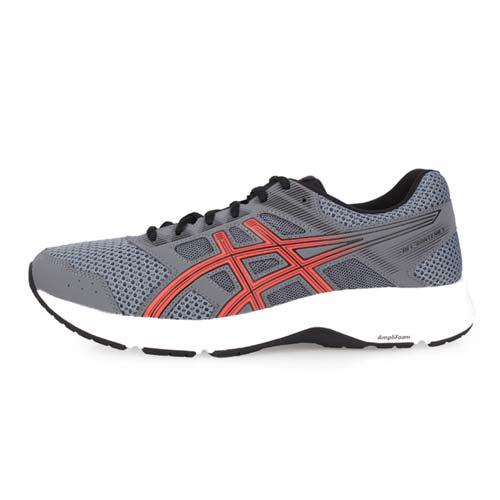 (男) ASICS GEL-CONTEND 5 慢跑鞋-路跑 亞瑟士 灰暗紅