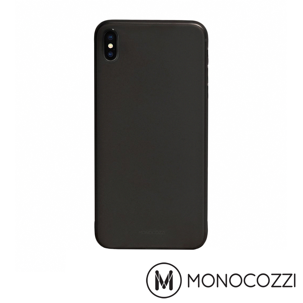 MONOCOZZI Ultra Slim iPhone XS Max 超薄保護殼 (霧面黑)