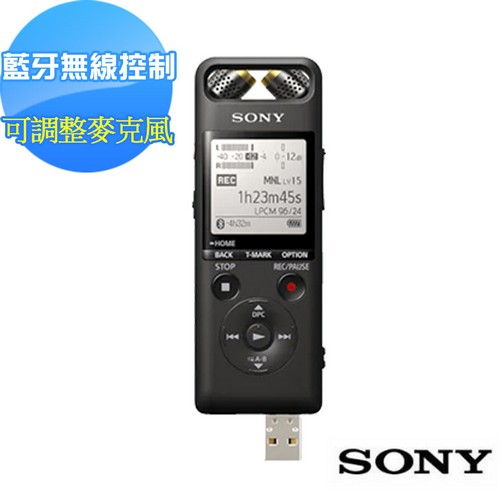 SONY 藍牙數位錄音筆 PCM-A10 16GB 送sony典藏名片夾(新力索尼公司貨)