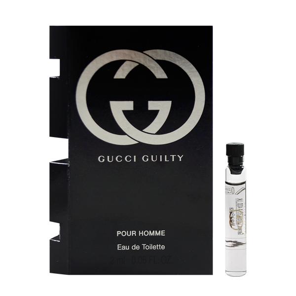 Gucci 罪愛男性淡香水 沾式針管小香 1.5ml Guilty Pour Homme EDT