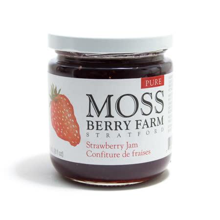 【MOSS BERRY】經典草莓果醬 250ML