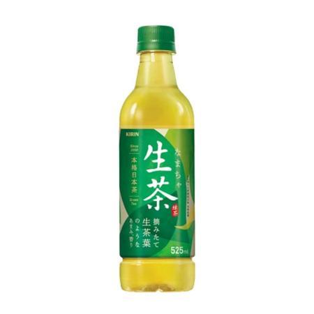 日本【KIRIN麒麟】 生茶 525ML / 2入