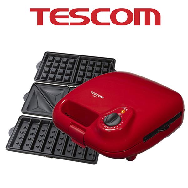 TESCOM HSM530 三盤式鬆餅機