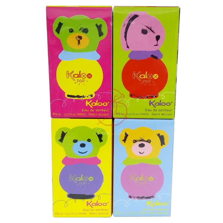 KALOO POP系列 迷你4入香水/小香禮盒 8ML*4入
