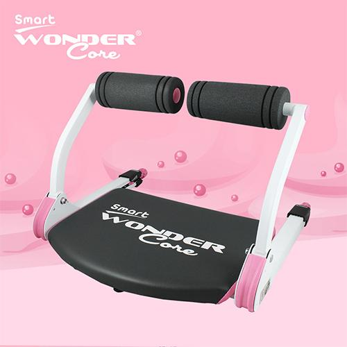 Wonder Core Smart 全能輕巧健身機WCS-612P(愛戀粉)