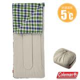 【美國 Coleman】新款 EZ 沙漠石刷毛睡袋(84×190cm.舒適溫度5℃以上).信封型睡袋.保暖化纖睡袋/內裡刷毛材質/附收納袋 CM-33803
