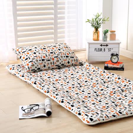 3D超柔 日式床墊-單人
