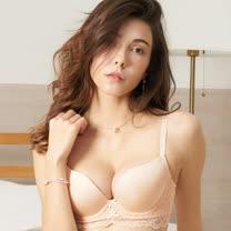 【EASY SHOP】微甜粉漾 美背款B-D罩內衣(粉膚色)