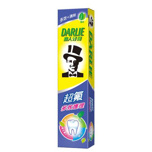 黑人超氟多效護理牙膏40g