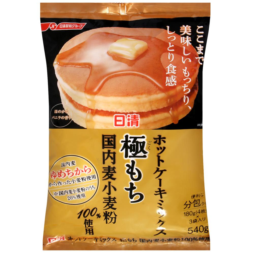 【日清】極緻濃郁鬆餅粉540G