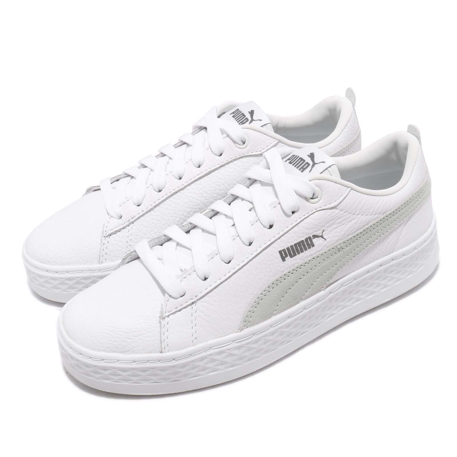 Puma 休閒鞋 Smash Platform L 復古 女鞋 36648706