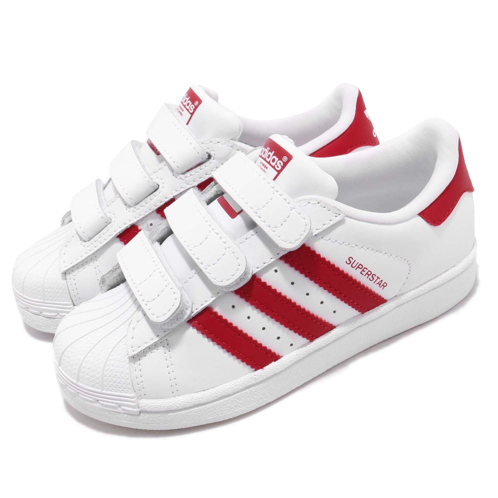 adidas 休閒鞋 Superstar CF 穿搭 童鞋 CG6622