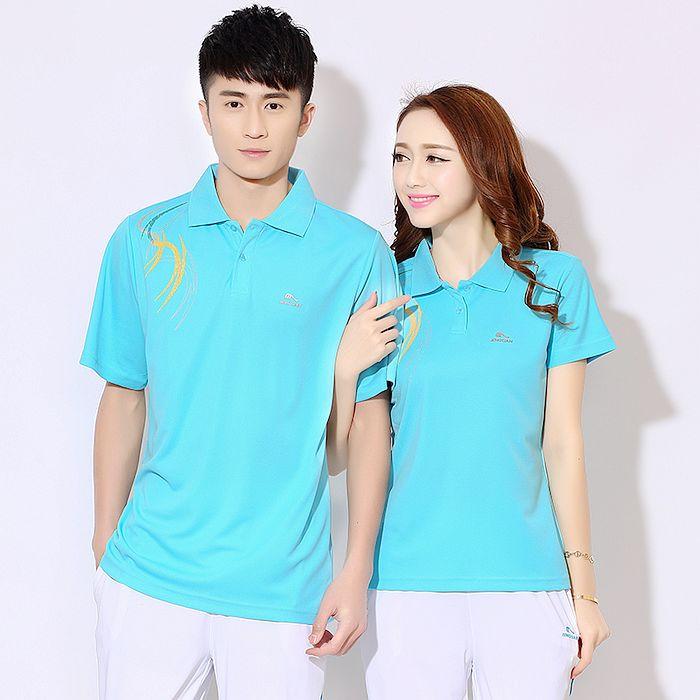 【費伊特】L~4XL 女款-運動短袖上衣輕柔排汗不起球 流星紋款 彩藍色