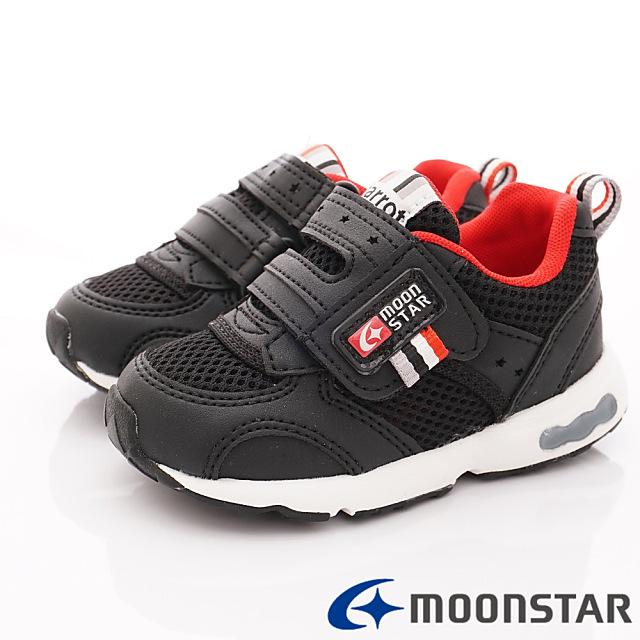 日本Carrot機能童鞋-寬楦透氣機能款-C21462黑-15-21cm