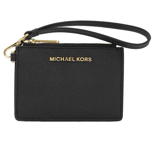 MICHAEL KORS JET SET 手提證件卡夾零錢包.黑