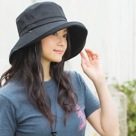 日本 QUEENHEAD 抗UV防風可折疊防曬帽