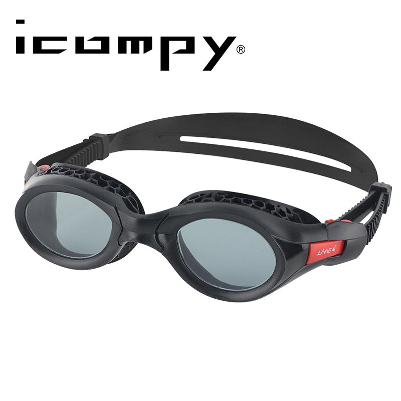 icompy 蜂巢式防霧抗UV運動泳鏡 VC-960