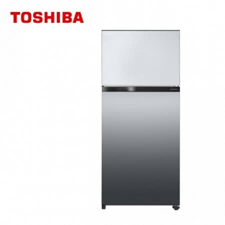 TOSHIBA 東芝 608L  變頻無邊框鏡面電冰箱