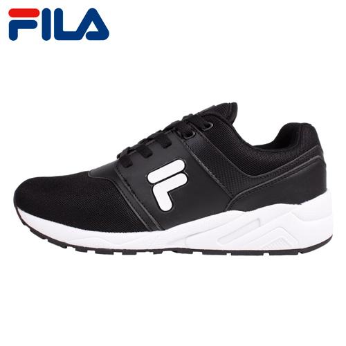 【FILA】J315T 輕量大LOGO男運動訓練鞋-黑(1-J315T-001)