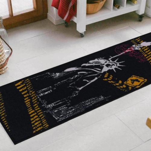 【范登伯格】藝術紐約★現代風走道毯-自由女神-40x120cm
