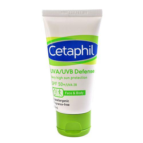 【Cetaphil舒特膚】極緻全護低敏防曬霜SPF50+ (50g)x2入組