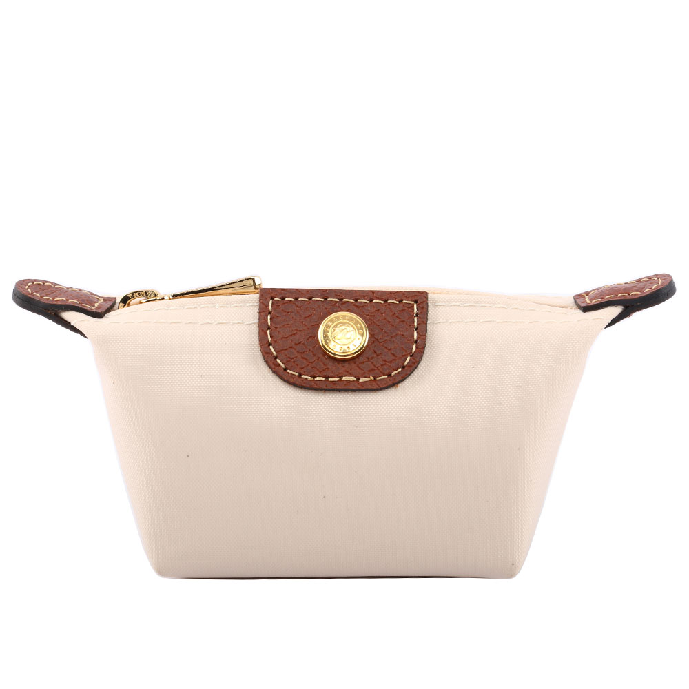 【LONGCHAMP】小零錢包(白色) 3693089A25