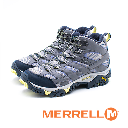 MERRELL MOAB 2 MID GORE-TEX郊山健行鞋 女鞋-灰