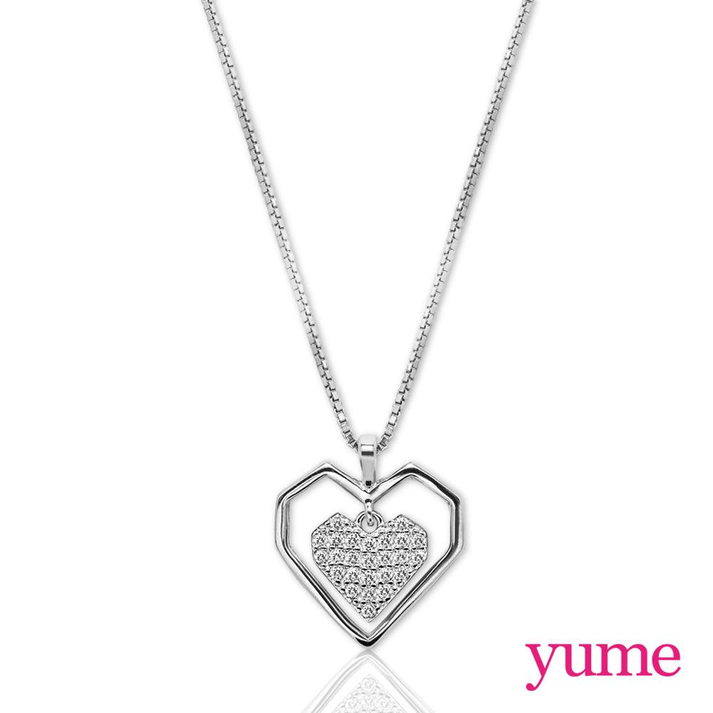 【YUME】雙戀心項鍊