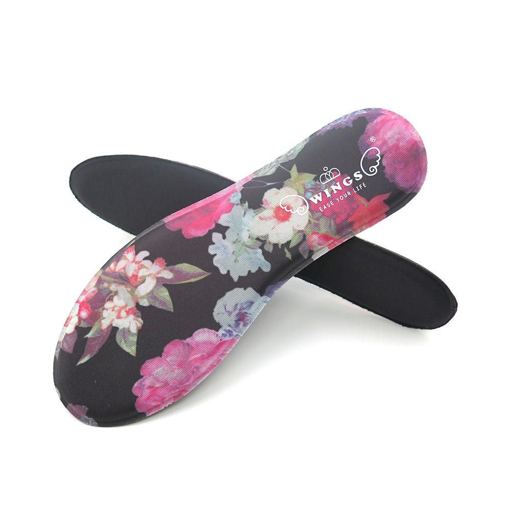 糊塗鞋匠 優質鞋材 C163 台灣製造 女用高密度記憶泡棉鞋墊 (1雙)