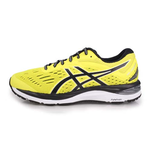 (男) ASICS GEL-CUMULUS 20 慢跑鞋-路跑 亞瑟士 芥末黃黑