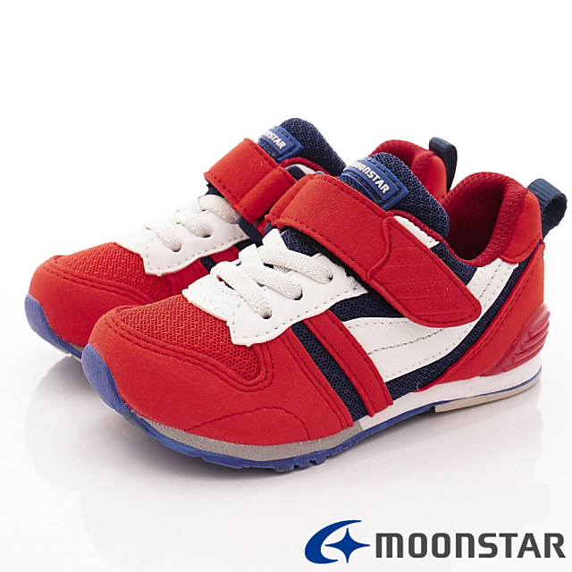 日本Carrot機能童鞋-HI系列機能款-C2121S2紅-15-21cm