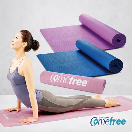 Comefree瑜珈墊+超細纖維鋪巾