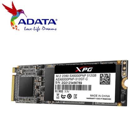 威剛 SX6000Pro 512G M.2 2280 PCIe SSD