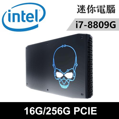 Intel NUC8i7HVK1-162PN(i7-8809G/16G/RX VEGA M GH/256G PCIE SSD) 迷你電腦/主機
