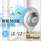 【惠而浦Whirlpool】智能遙控360度旋風扇 WTFE110W