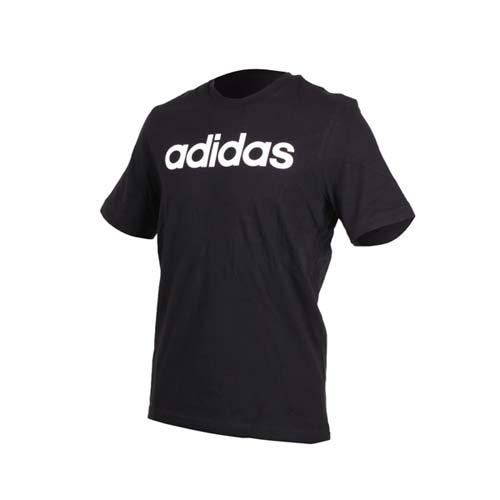 (男) ADIDAS 短袖圓領T恤-慢跑 路跑 愛迪達 黑白