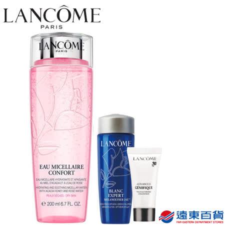 【官方直營】Lancôme 蘭蔻 溫和保濕玫瑰卸妝水200ml